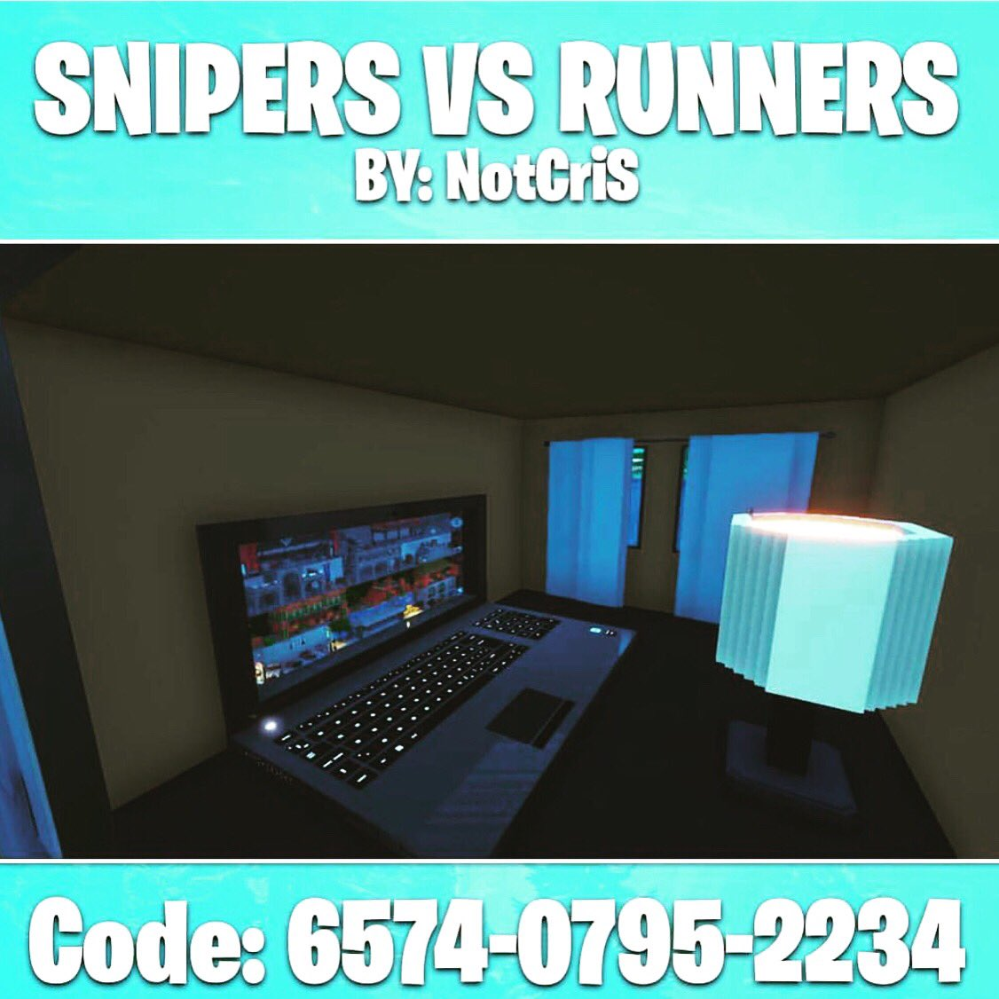 snipers vs runners fortnite