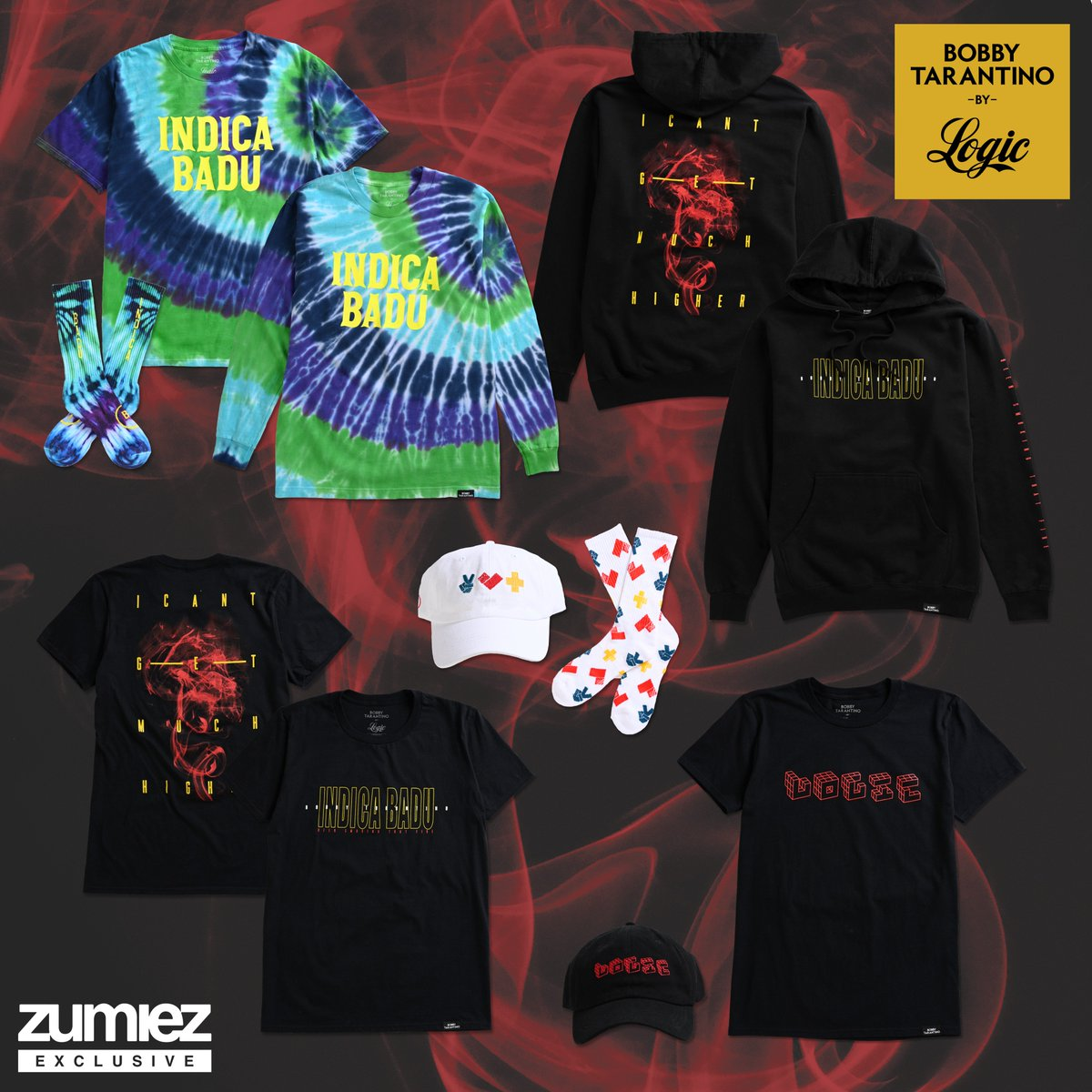 RT & follow @TeamVisionary for a chance to win one of 10 items from the 'Bobby Tarantino' capsule with Zumiez. Giveaway ends March 15.