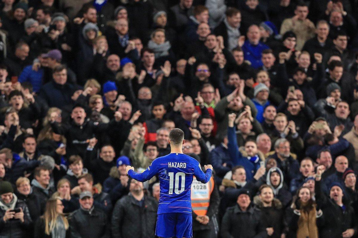 Uber Chelsea FC 🏆's photo on Hazard