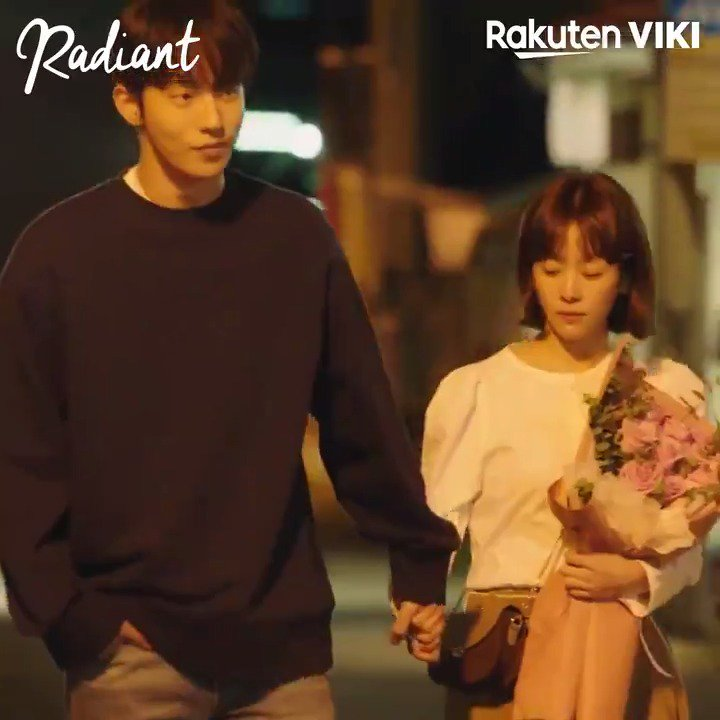 #NamJooHyuk and #HanJiMin hold hands and we're SCREAMING!  Watch #Radiant on Viki: https://t.co/Xvt6pw28zJ https://t.co/Wri00aOn3c
