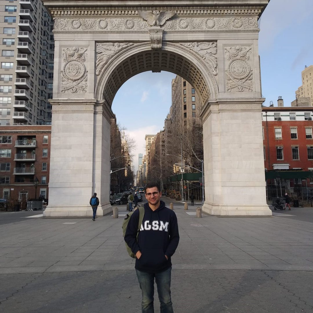 Bassim Hamoutahra, AGSM Full-Time MBA student has been immersed in the Leonard N. Stern School of Business, New York University as part of the ASGM MBA exchange program. Bassim is taking every chance to combine his MBA experience with the vibrant culture of New York.