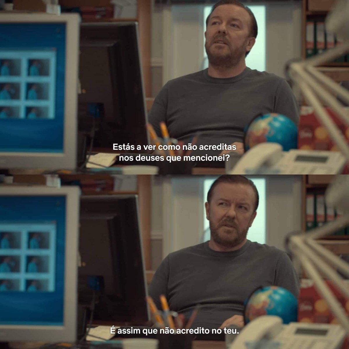 Com. Cultura e Arte's photo on Ricky Gervais
