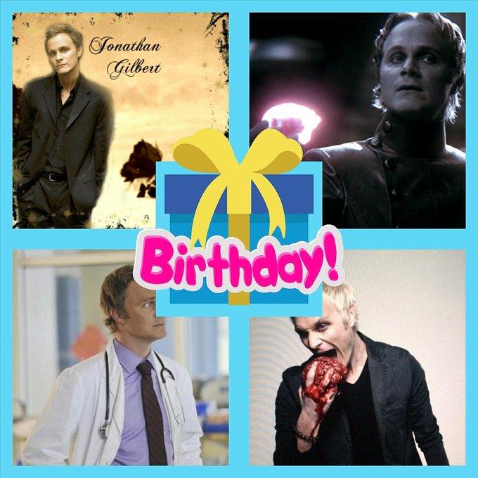 Happy birthday to David anders