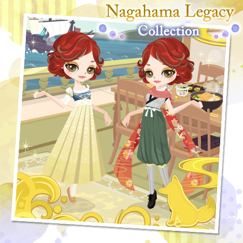 The Nagahama Legacy Collection is here with a Japanesque take on old European finery! Will you become a Scholarly Thief? Or gild your fashion with the Cloud Fox Border?  Question: Any idea what those items are on the table in the Port of Change?  #SLBP #VoltageInc #RedCurls!