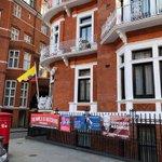 Free Julian Assange—The World Is Watching... Ecuadorian Embassy, London. https://t.co/gXcj1OdanS #FreeAssange #WikiLeaks