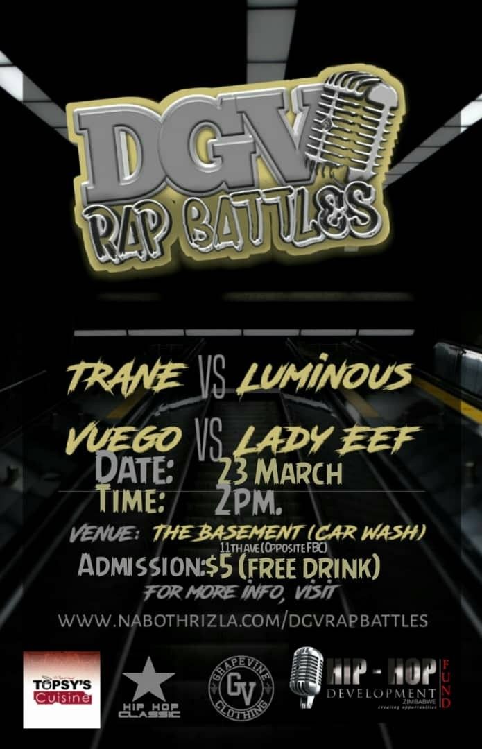 Dgv rap battles are back. Link up Saturday 23 march 2019 https://t.co/ooWwqXYyGF