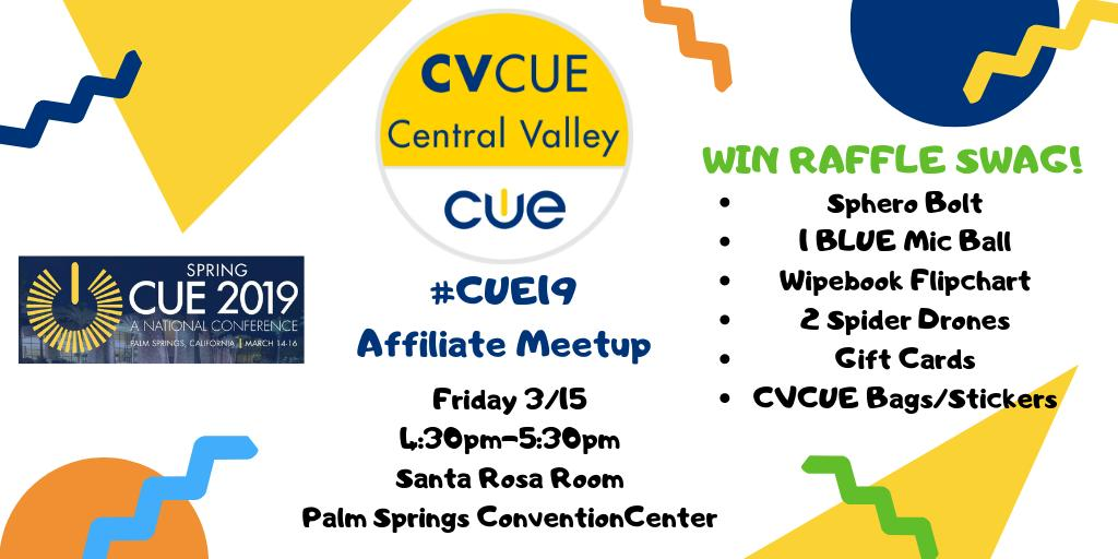 Central Valley CUE's photo on #CUE19