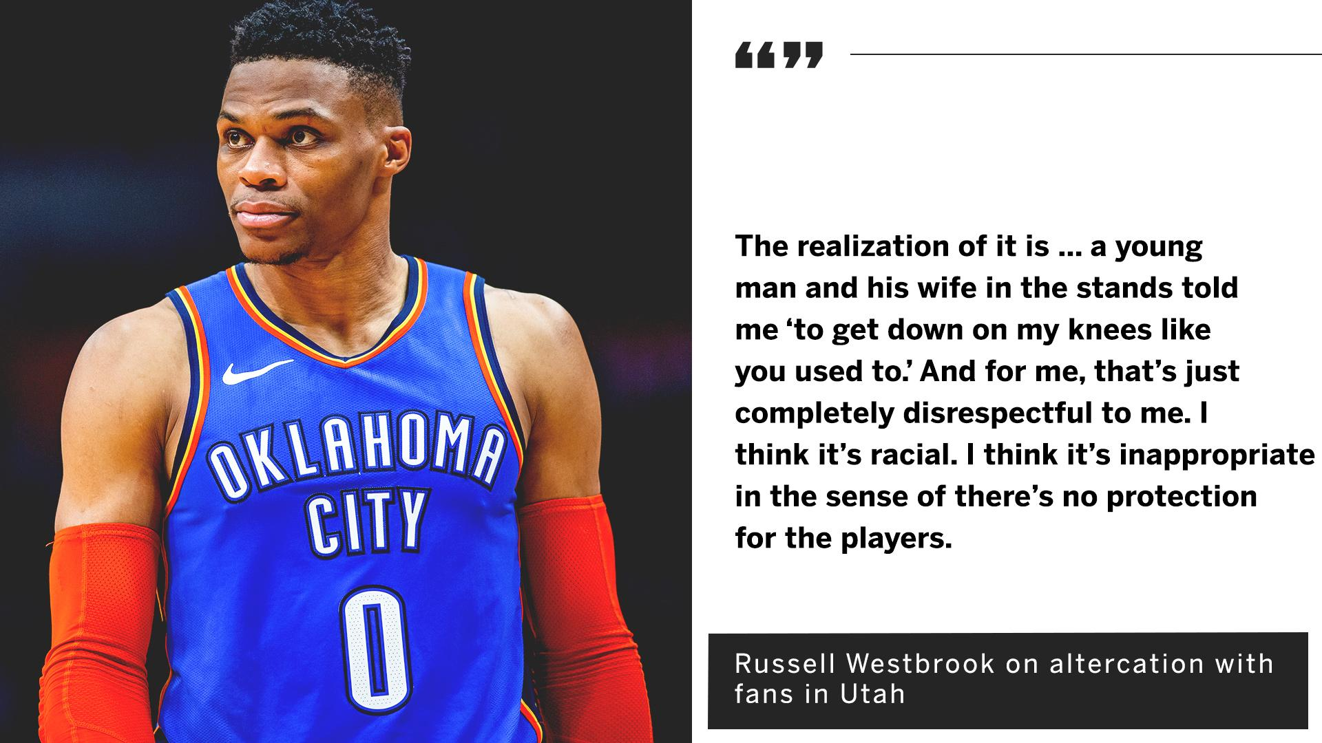 Russell Westbrook shared his side of the story. https://t.co/9HQEn4mQEz