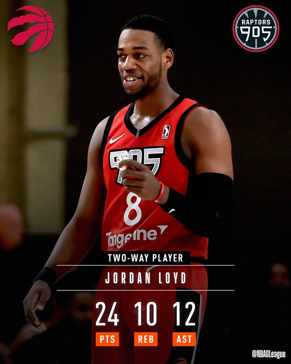 A second-career triple-double for #2WayPlayer @mrjloyd!