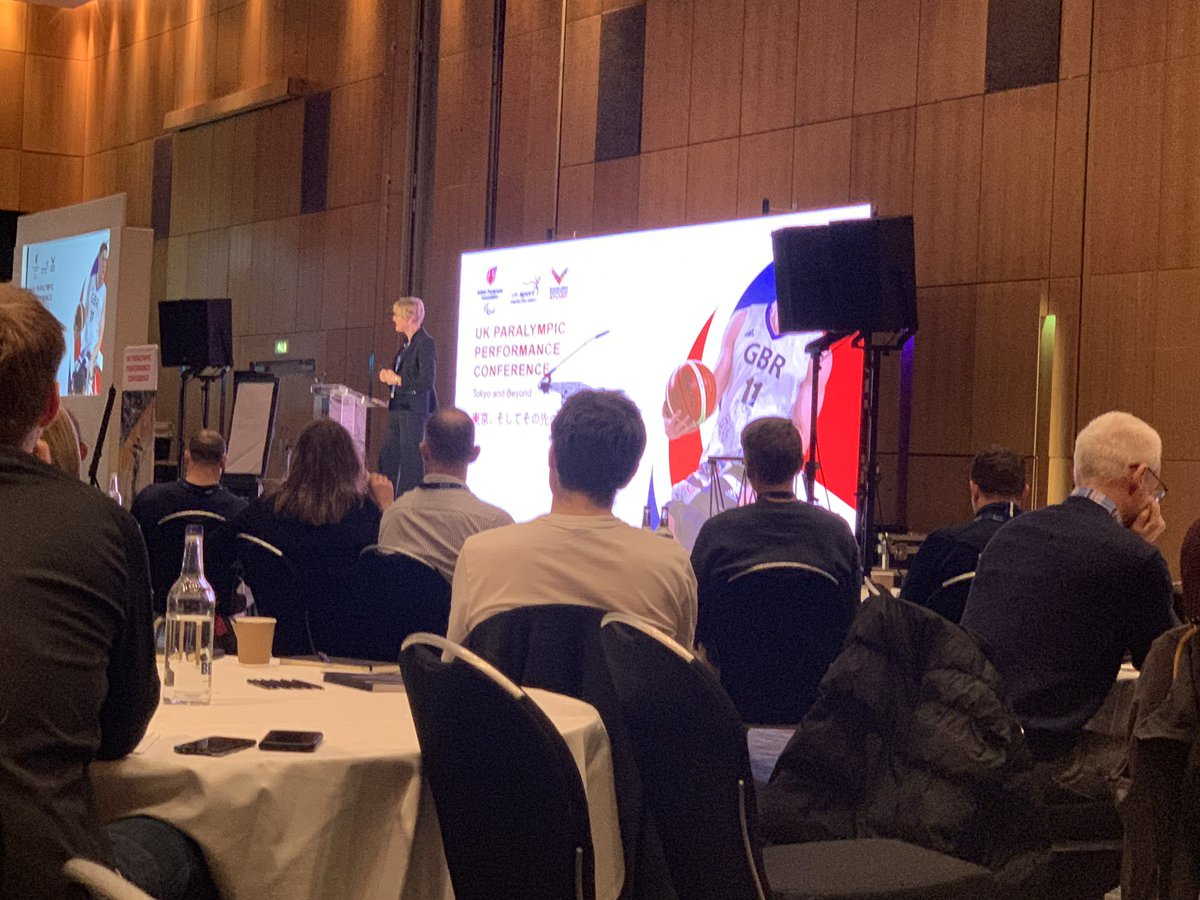 Honoured to represent @HelpforHeroes at the UK Paralympic Performance Conference, who were mentioned in the opening remarks. Our reputation in parasport is second to non. #ChangingLives <br>http://pic.twitter.com/HI3qeQVdRU