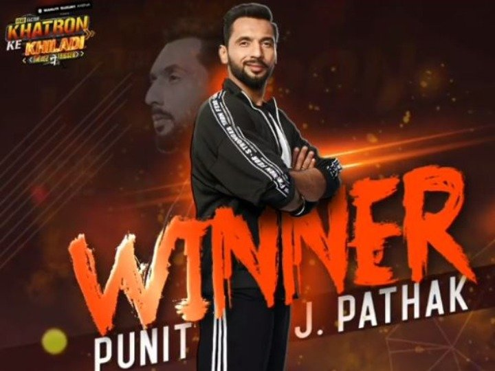 #fnind 'खतरों के खिलाड़ी 9': कोरियोग्राफर पुनीत जे पाठक बने विजेता, दूसरे नंबर पर रहे आदित्य नारायण @  #FocusNews #PuneetPathak #KKK9