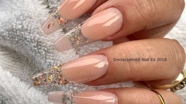 Nails Magazine S Tweet Encapsulated Crushed Opal Nail Art