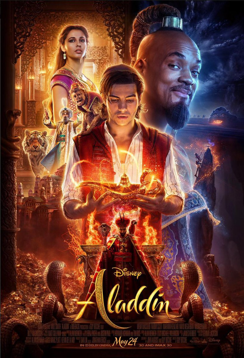 Aladdin trailer: Film promises to be full of action and romance; shows #WillSmith in a not so blue Genie avatar #Aladdin @MenaMassoud #AladdinTrailer  https://www. pinkvilla.com/entertainment/ news/aladdin-trailer-film-promises-be-full-action-and-romance-shows-will-smith-not-so-blue-genie-avatar-442940 &nbsp; … <br>http://pic.twitter.com/ei0med0P3B