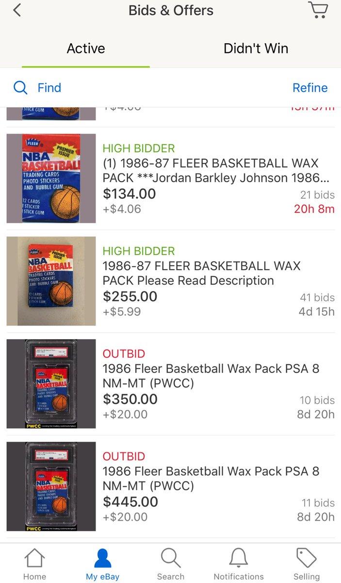 La Beast On Twitter A Pack Of 1986 1987 Fleer Basketball