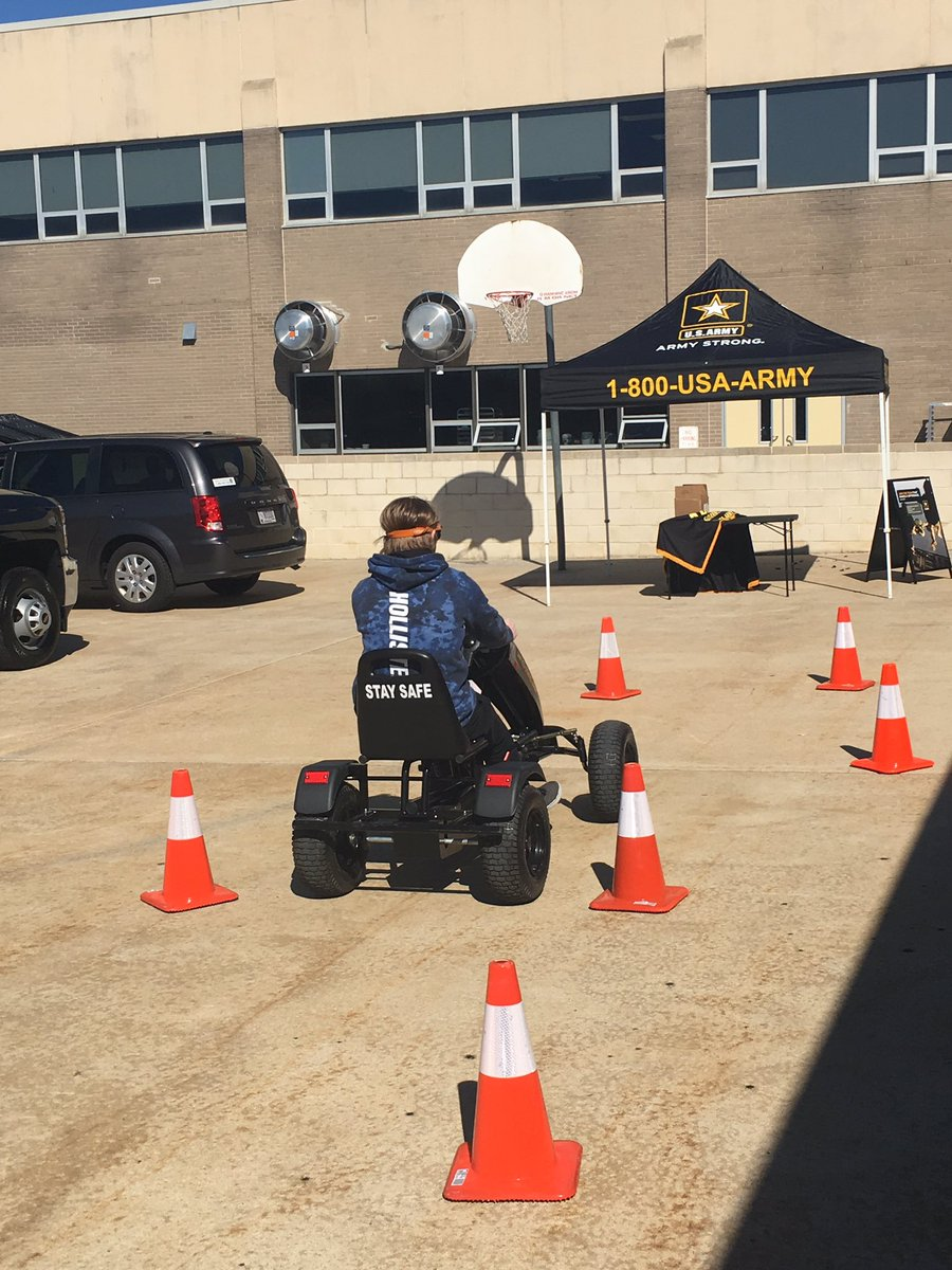 Go Army - Distracted Driver Simulation.