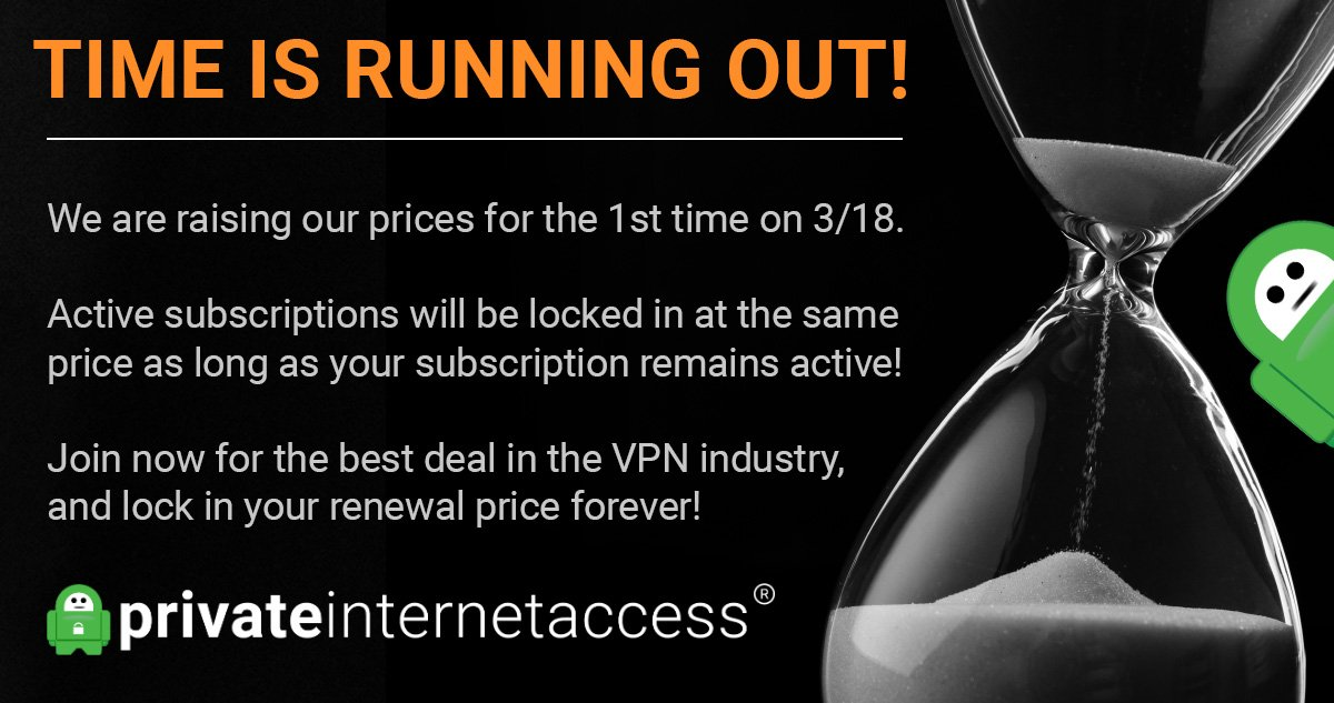 Private Internet Access VPN (PIA) on Twitter: