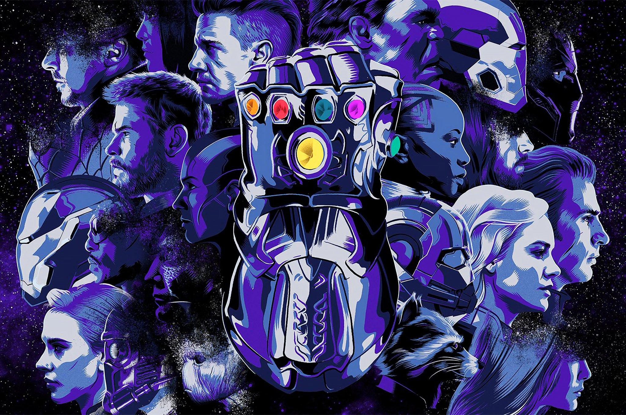 Tá saindo as artes promocionais ������ #VingadoresUltimato #AvengersEndgame https://t.co/w6GOEGOmKU