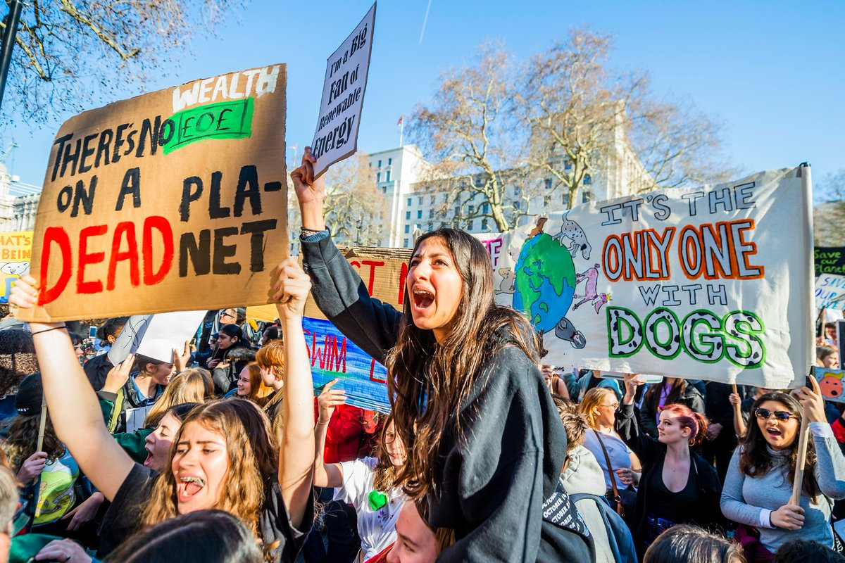 The Guardian's photo on #climatemarch