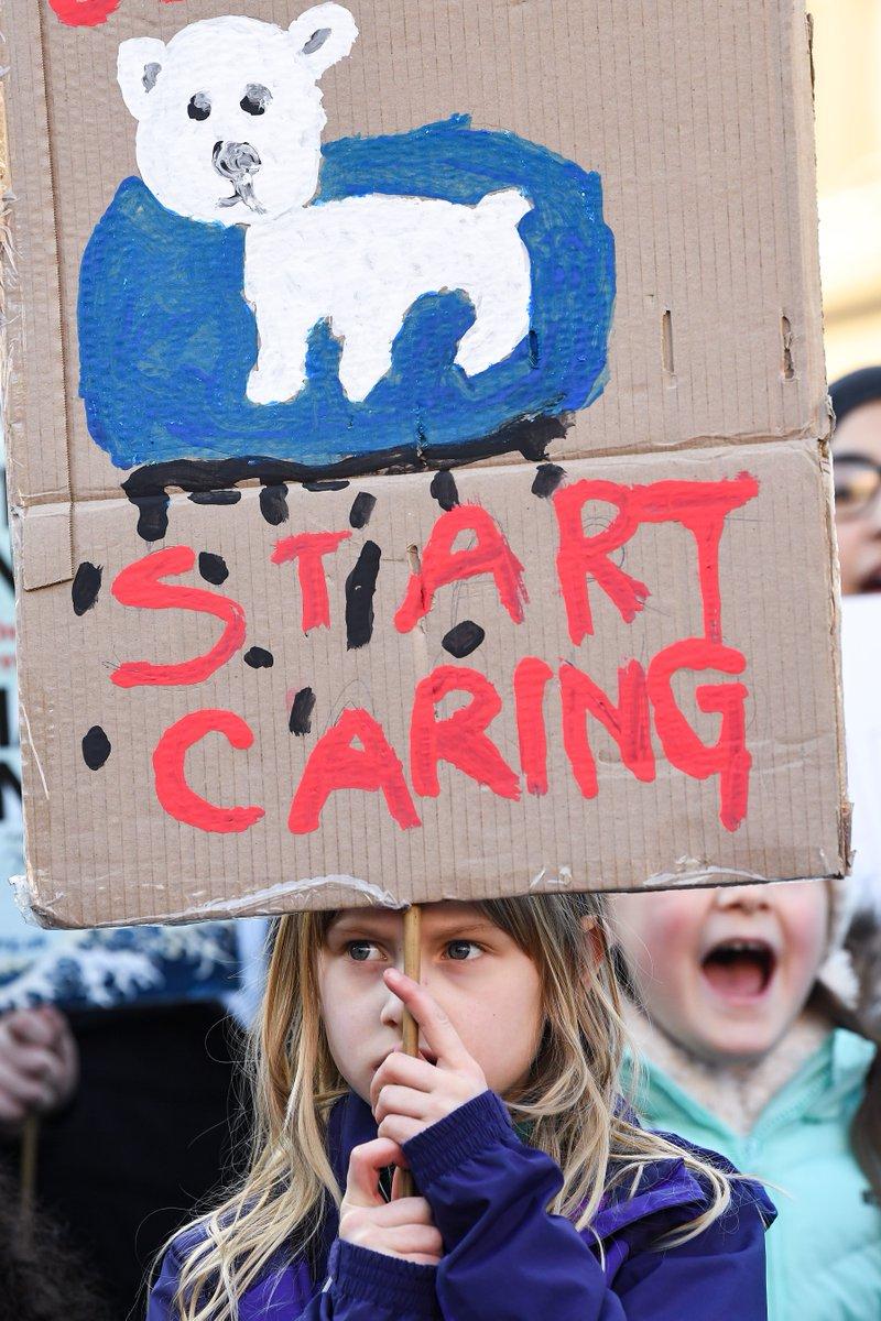 The Guardian's photo on #ClimateStrikeUK