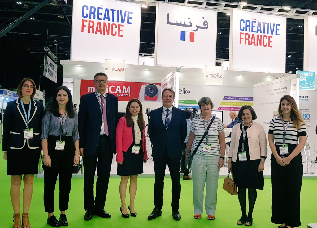 🙏 Thanks to the teams of @BF_TechServices & @BF_MiddleEast for organizing once again an amazing #FrenchPavilion at @CABSATofficial @DWTCOfficial ! #DreamTeam💪 #FranceUAE 🇫🇷🇦🇪