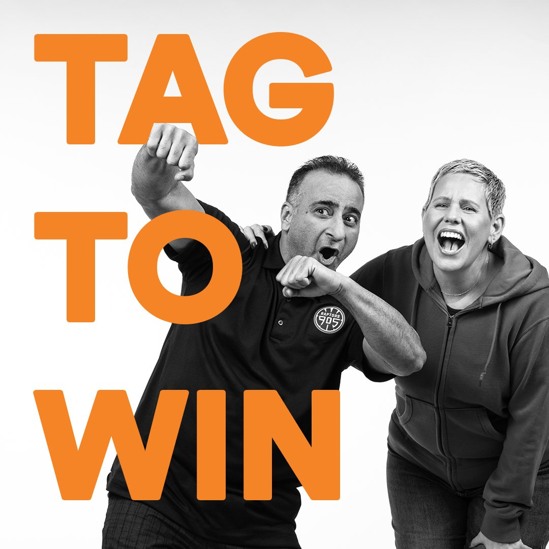 Who would you want to sit courtside with at a @Raptors game? Follow us, tag a friend (in a reply to this tweet), include #TangerineHoopsContest in your reply and you could win a pair of courtside tickets to the Mar 22nd Raptors game.  https://hoopstagtowin.shortstack.com/42FvCM