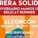 Image for the Tweet beginning: Alcorcón acogerá en abril una