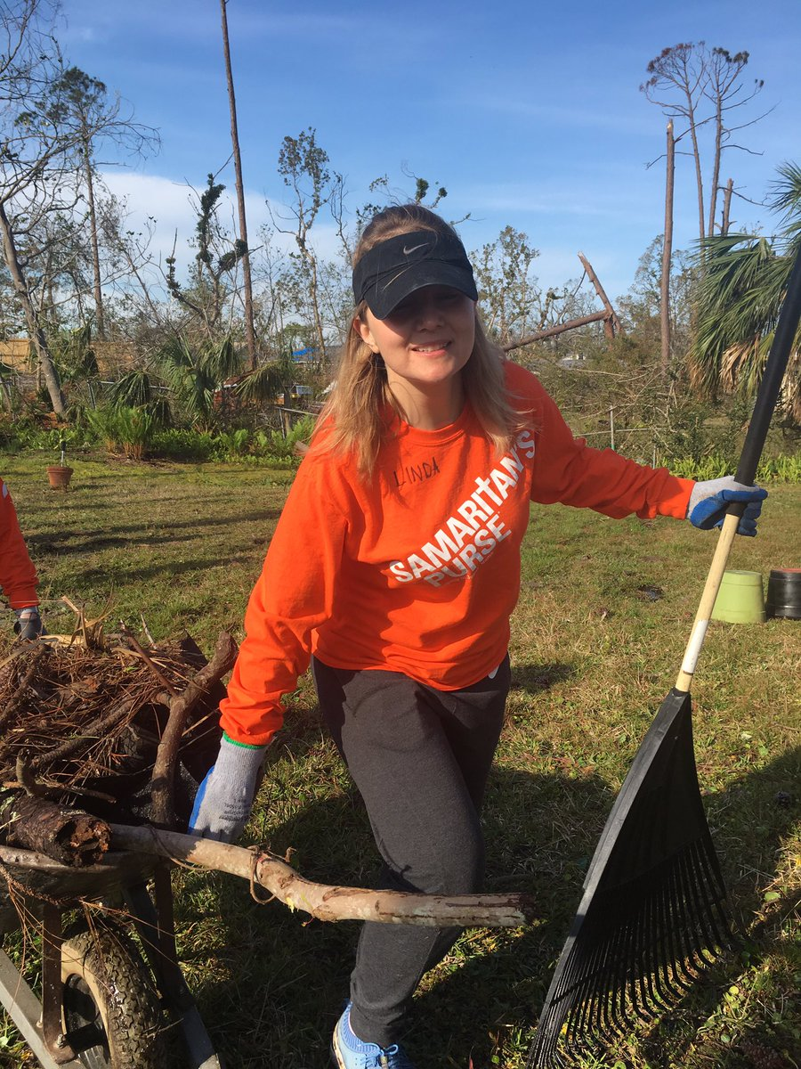 Day 3 clearing out the back of Ms. Pamela's home. #Hurricanemichael #NCTCserves #LifeatNCTC<br>http://pic.twitter.com/PXXmAludAl