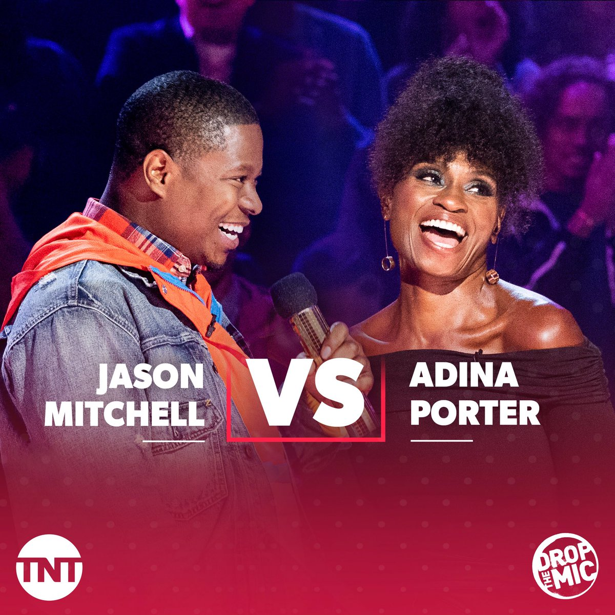 Done with the hints. It's @DropTheMicTNT on TNT Wednesday at 10 PM. There will be bleeping!