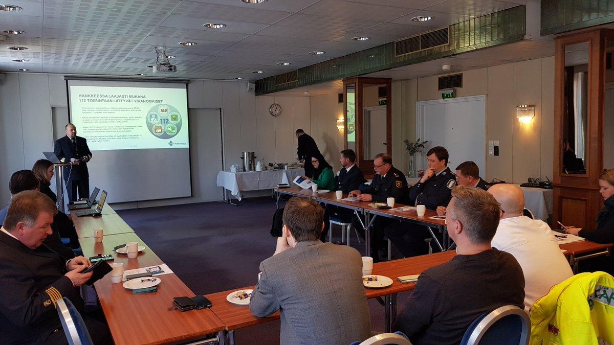 ERICA-hankepäällikkö  mlm lamu avaa hankkeen historiaa ja miten  käyttöönottovaiheeseen on päästy