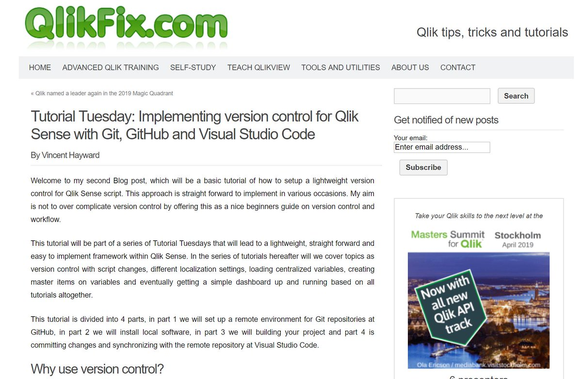 The Qlik Fix! (@QlikFix) | Twitter