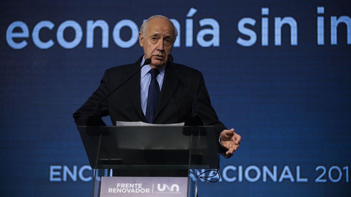 infobae's photo on Roberto Lavagna