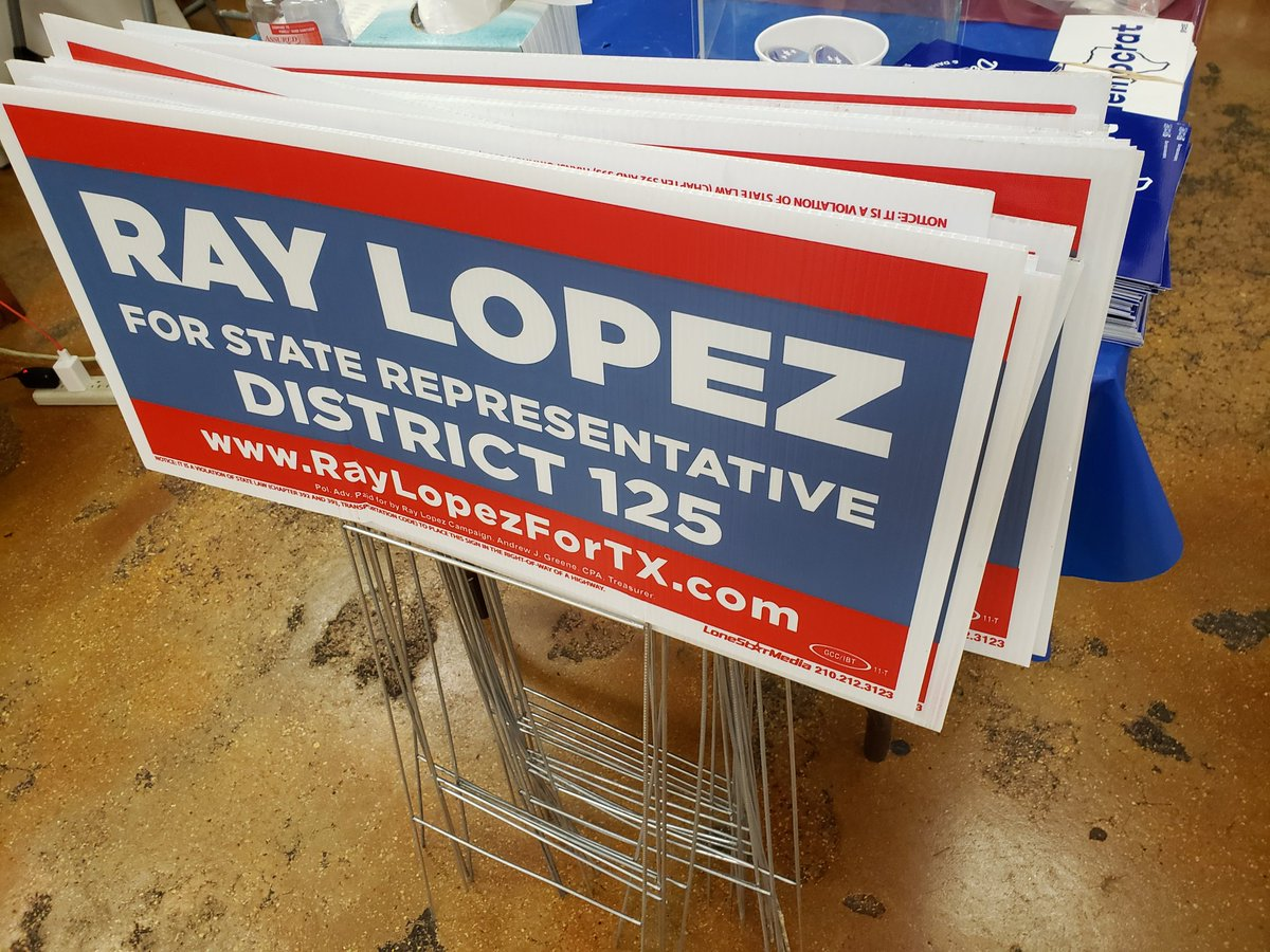 Got my taco. Got our lit. Its election day in SA! @raylopezfortx #hd125 #TXLege #FiredupReadytogo <br>http://pic.twitter.com/DOz7qnJ9xU