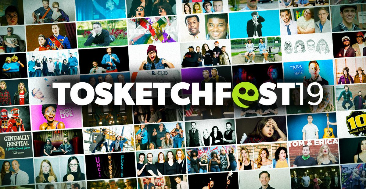 Tired of the cold? Warm up with laughter at @TOsketchfest in #Toronto until March 17! #TOsketchfest19 #comedyTO http://www.torontosketchfest.com