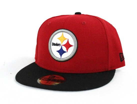 e7247462239 ... http   www.ecapcity.com pittsburgh-steelers-new-era-nfl-59fifty-fitted- hat-pittsburgh-pirates-color-way-red-black-gray-under-brim.html …