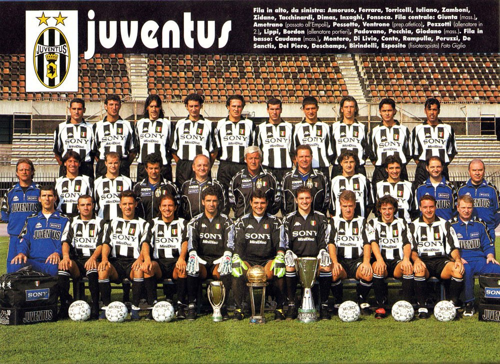 90s Football's photo on juventus