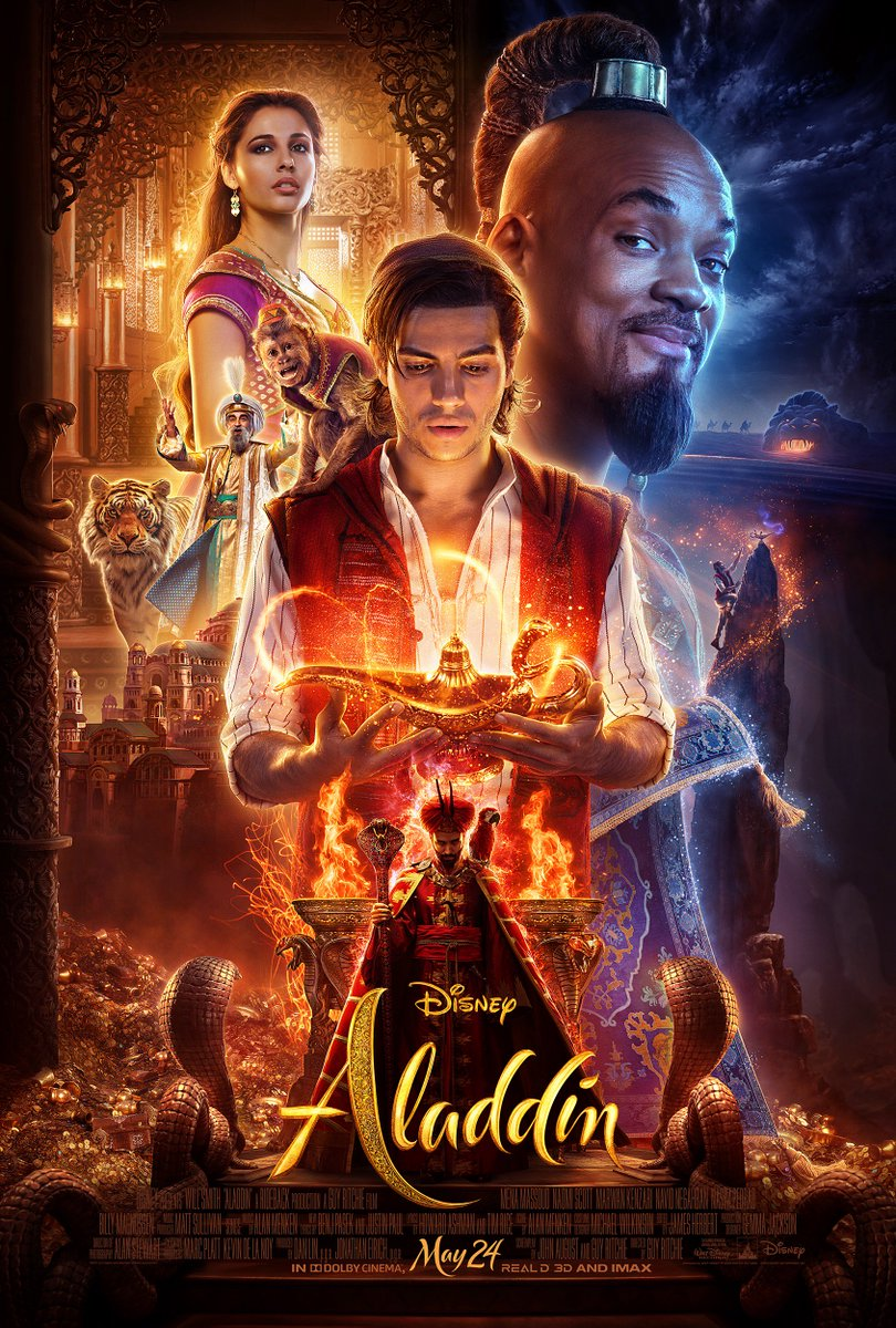 Aladdin Trailer Unleashed Featuring Will Smith