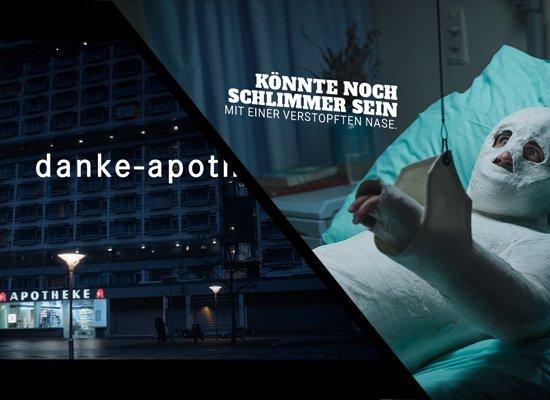 #SpotdesMonats 📽️ Im Februar tragen eine Apothekenimagekampagne und verstopfte Nasen den Sieg  davon:🥈 holen @Mhoch4 für @AU_de und @Serviceplan für #Penny!  🥉gewinnen außerdem Die Crew und Neues aus Hamburg 🎉  https://t.co/QFhiyDq54v https://t.co/AANG66HBWa