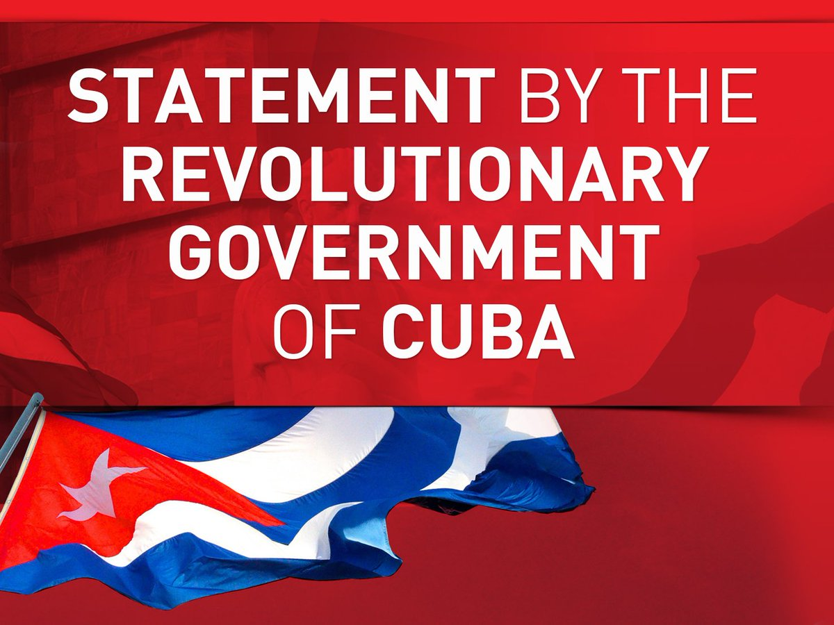 This is an escalation of a non-conventional war led by the #US government against that sister nation, taking place after the failed provocation orchestrated on #23Feb with the intention of carrying by force an alleged humanitarian aid into #Venezuela.  https://www. minrex.gob.cu/es/cuba-condem ns-terrorist-sabotage-against-power-supply-system-venezuela &nbsp; … <br>http://pic.twitter.com/7WGKpVpLLt
