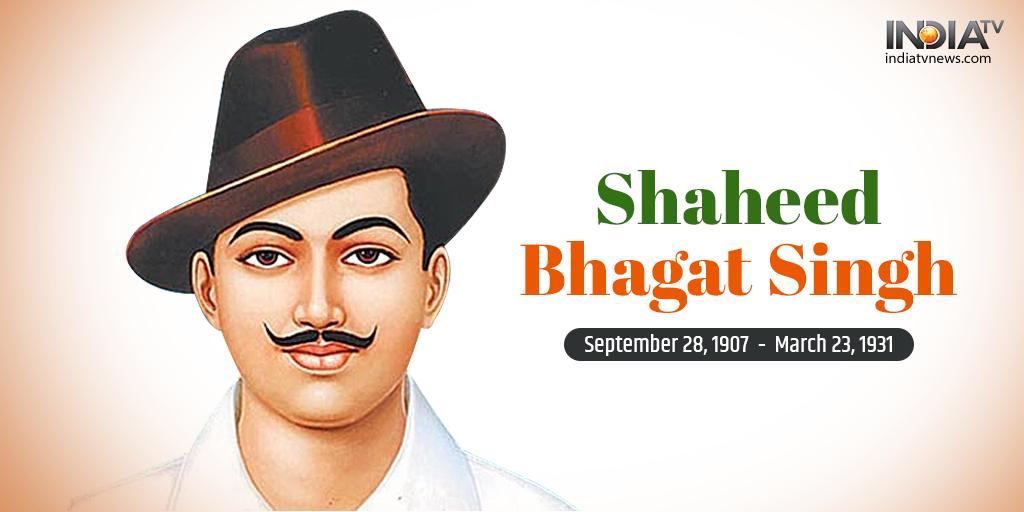 Rajat Sharma's photo on #BhagatSingh