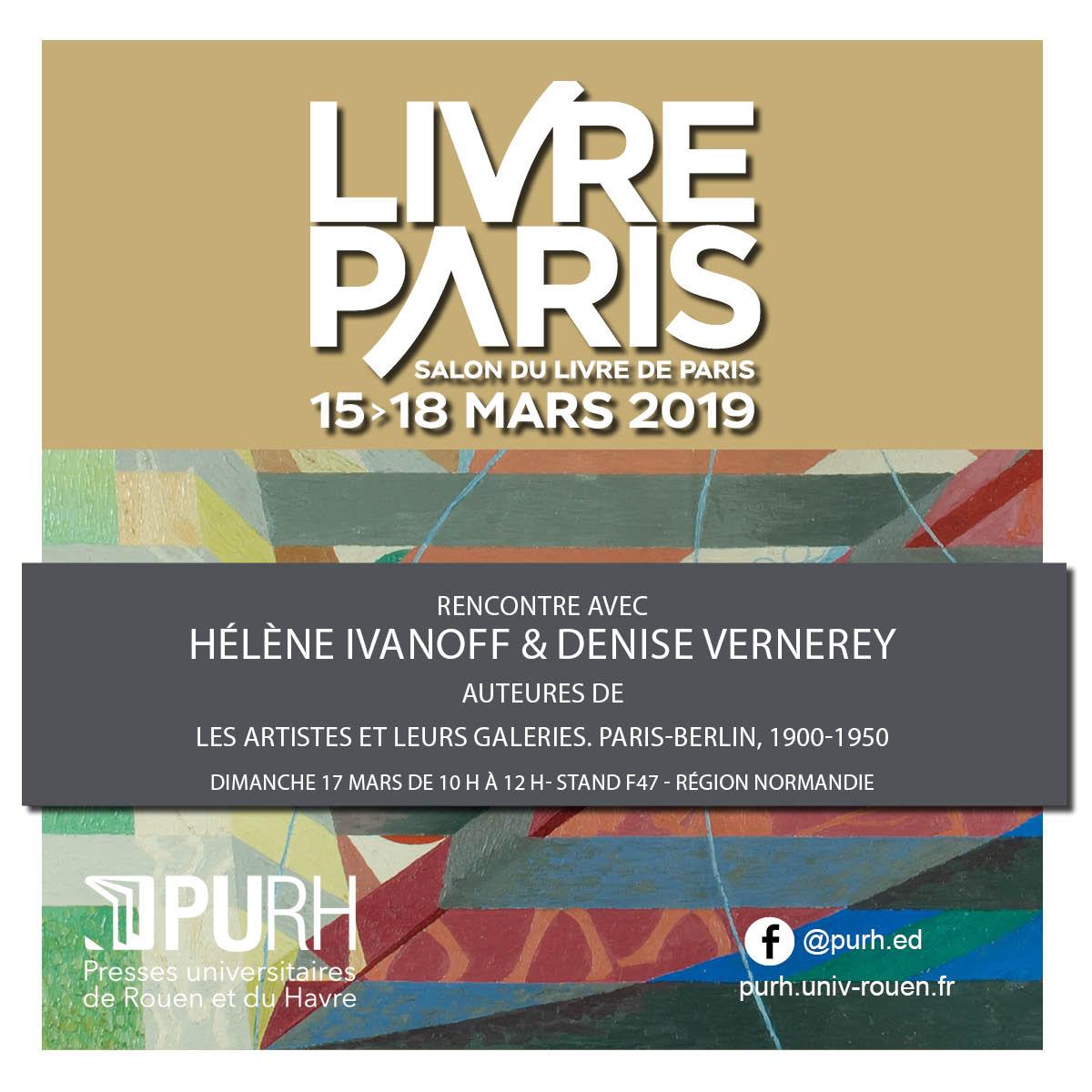 PURH - Presses universitaires de Rouen et du Havre's photo on #salondulivre
