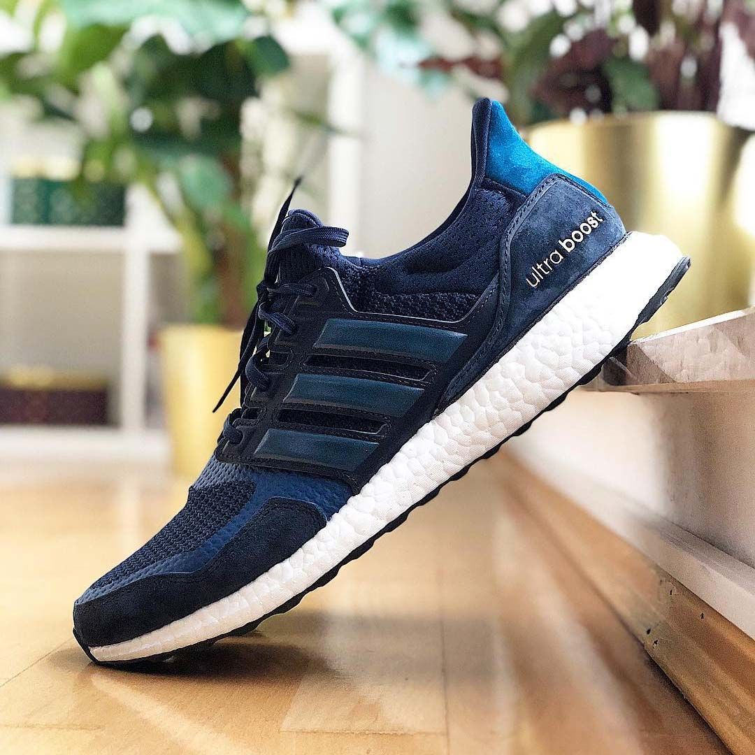 suede and leather ultra boost
