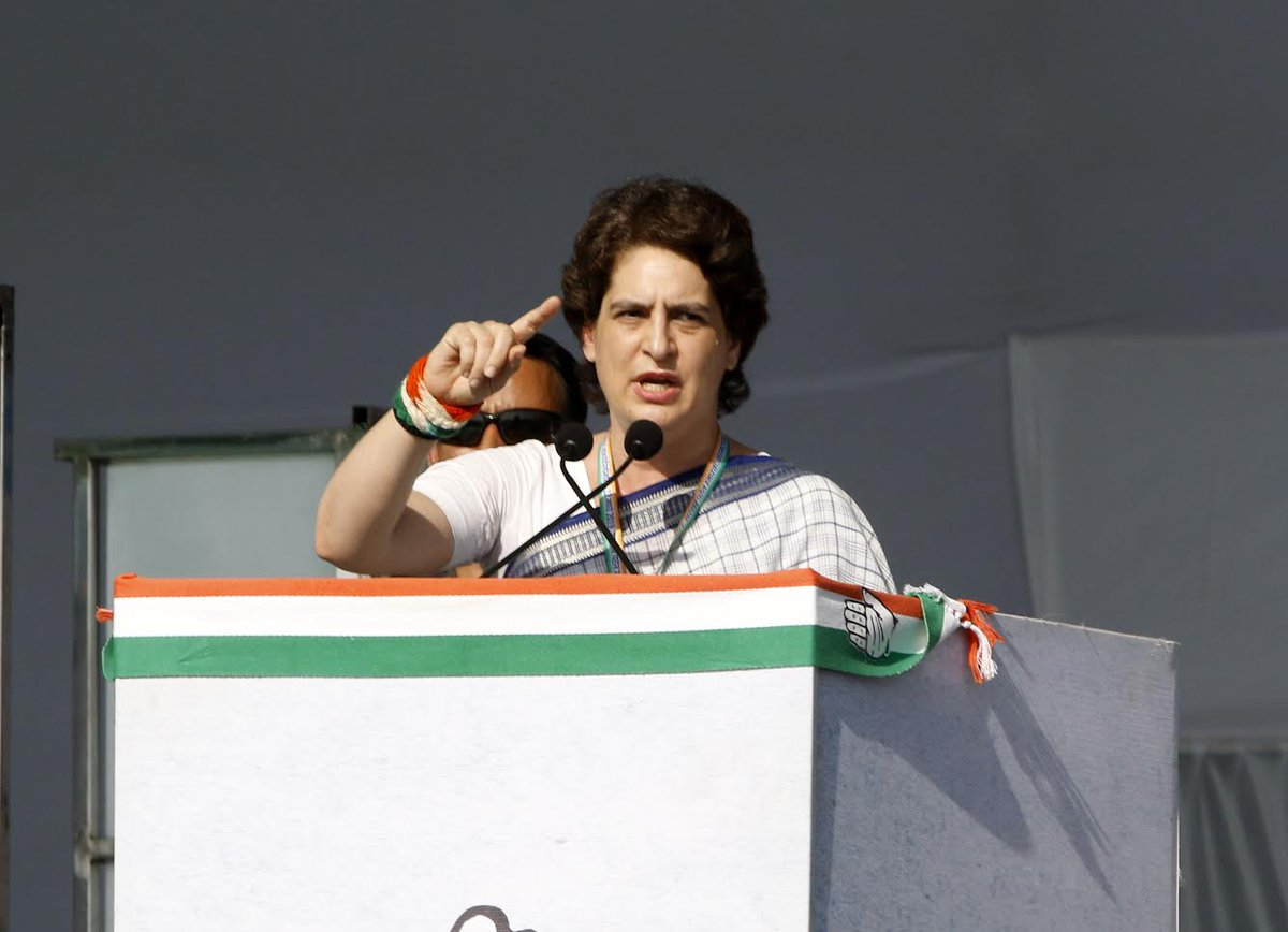 Priyanka Vadra urges people to remain aware that 'unnecessary' issues are not raised during poll campaign