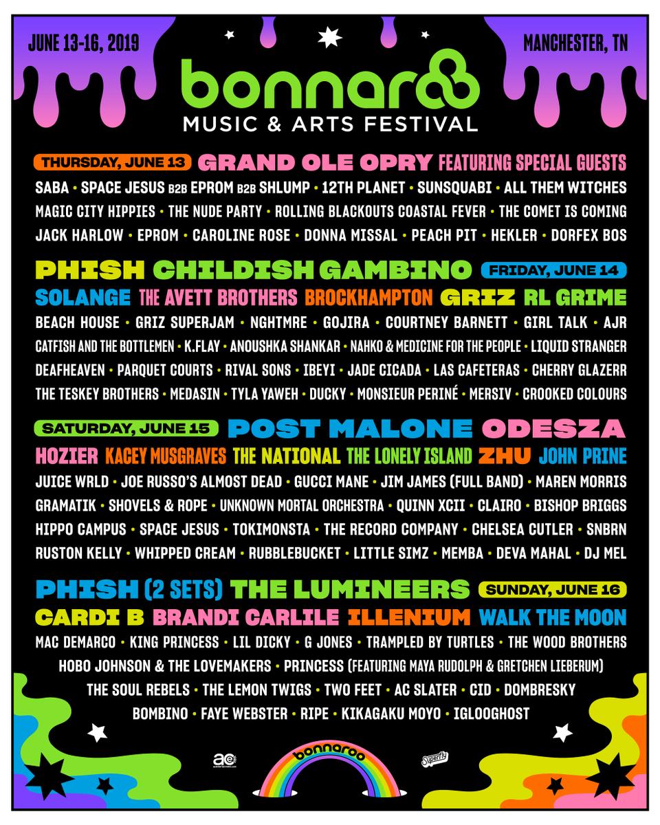 Bonnaroo lineup