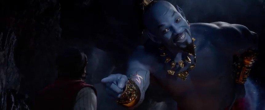 Nouveau trailer pour le film live Aladdin, et les réactions semblent meilleures, notamment sur l'apparence du Génie ! Qu'en pensez-vous ? Sortie en France le 22 mai.
