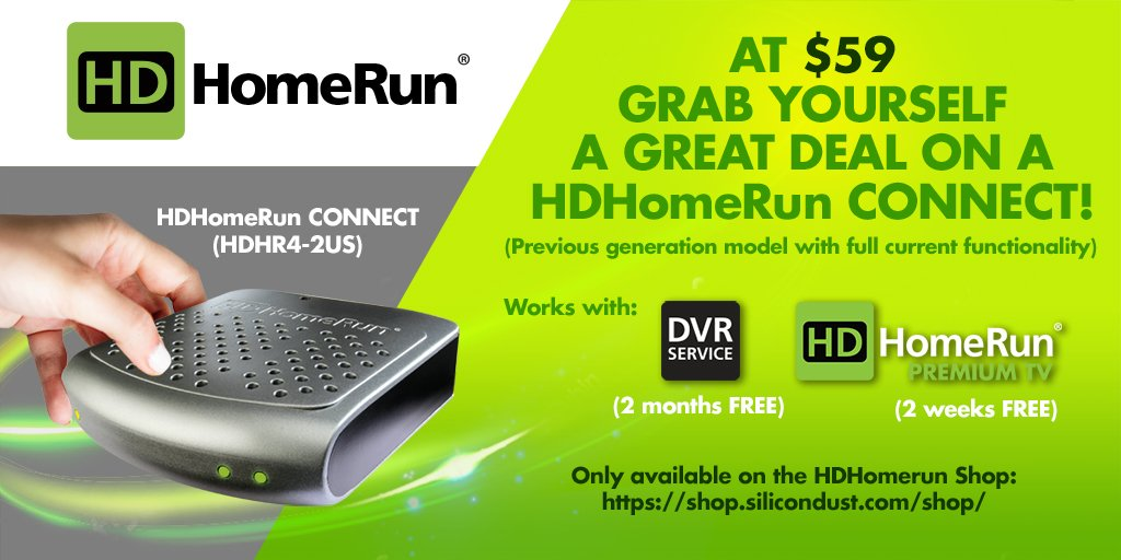hdhomerunconnect hashtag on Twitter