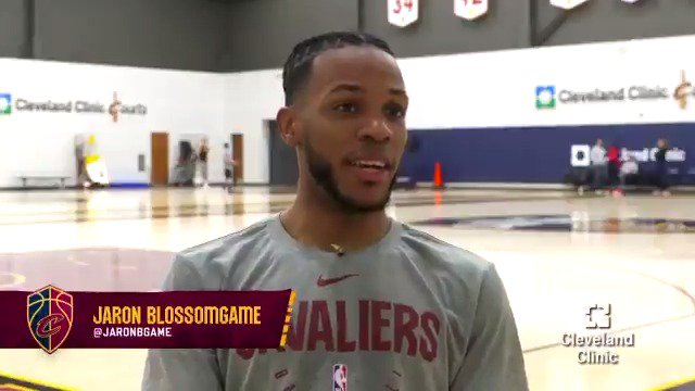 """I'm a firm believer in goal setting. It's important because you can track your progress."" As a Cavs & @CantonCharge #2WayPlayer, @JaronBgame has patiently set goals while working towards success.  Practicing YOUR patience? Try @ClevelandClinic's 7 Tips → https://cle.clinic/2EKgyXh"
