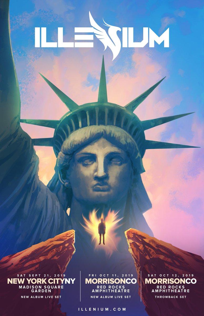 Illenium Announces 2019 Tour, With Shows at Madison Square Garden & Red Rocks ile ilgili görsel sonucu