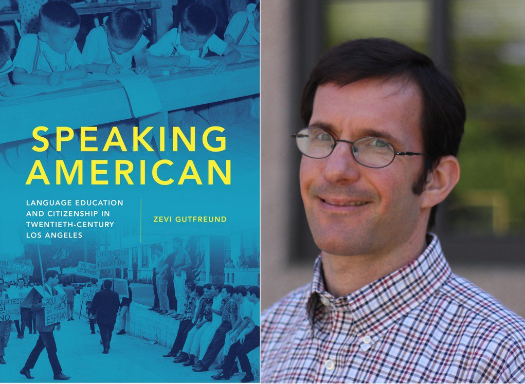 "Tune in to WRKF (89.3FM in BR) Wed. at 9 a.m to hear an interview with Prof. Zevi Gutfreund! Dr. Gutfreund will talk with @JimEngsterShow about his book, ""Speaking American:"" a timely discussion of language education, citizenship and immigration issues. #twitterstorians https://t.co/KaL7XbqjVu"