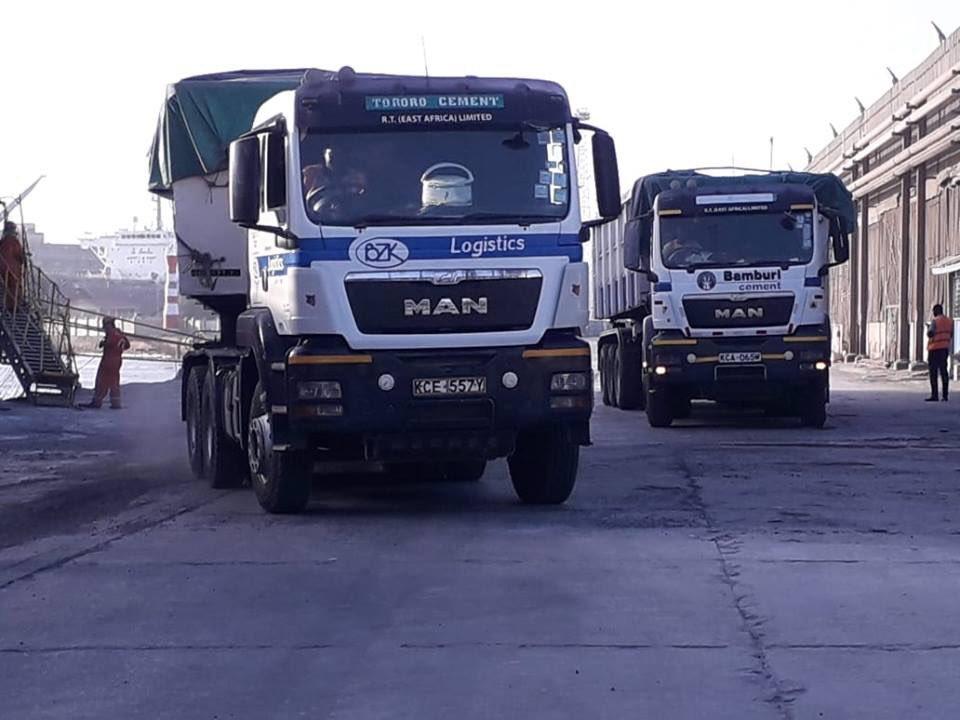Image result for Lorries carrying buzeki's fertilizers