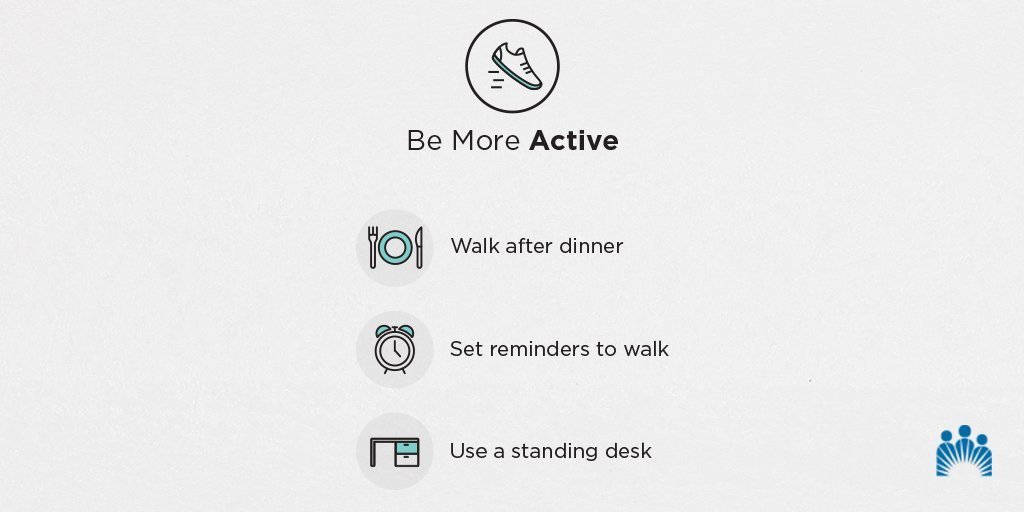 You don't need to be an athlete to be fit – little things make a big difference. 💪🏼 Take a look at these tips on how to be more active to improve your health: https://k-p.li/2SExbIM